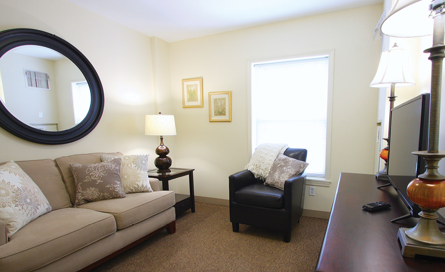 Interior Shot of victorian village Independent living Apartments
