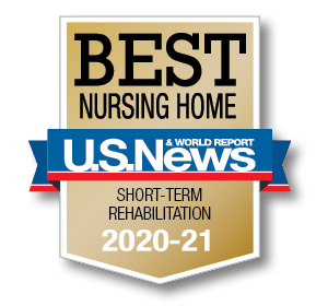 U.S. News and World Report Best Nursing Home logo