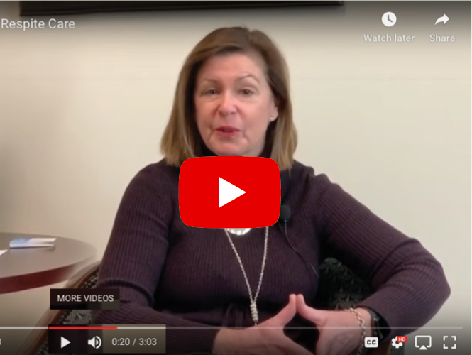 video clip of Terri Maxeiner discussing senior care