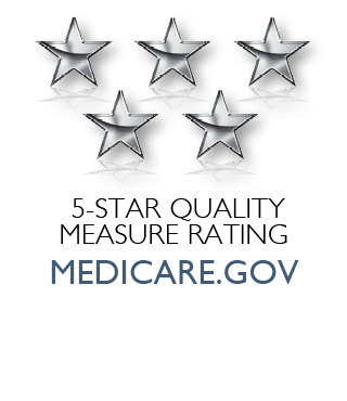medicare.gov five-star logo