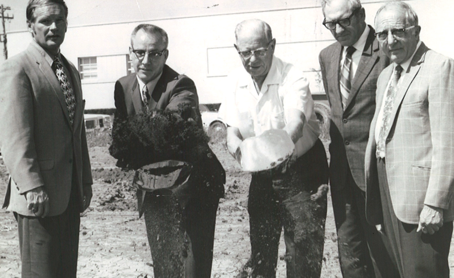 providence founders in the 1970s groundbreaking of new wing