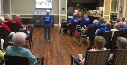 blog post Wii Bowling offers Virtual Fun and Real-Life Benefits to Residents thumbnail