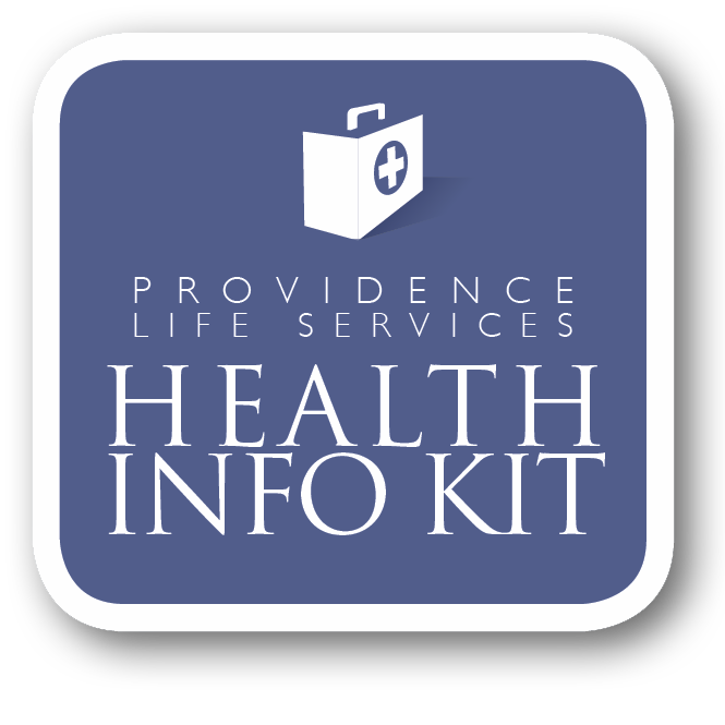 providence life services health info kit logo