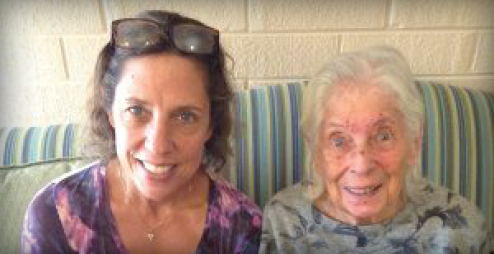 blog post Daughter brings mom from Florida for respite stays at Saratoga Grove thumbnail